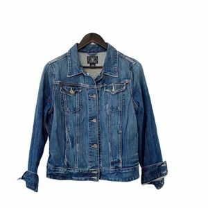Lucky Brand Classic Denim Blue Jean Jacket